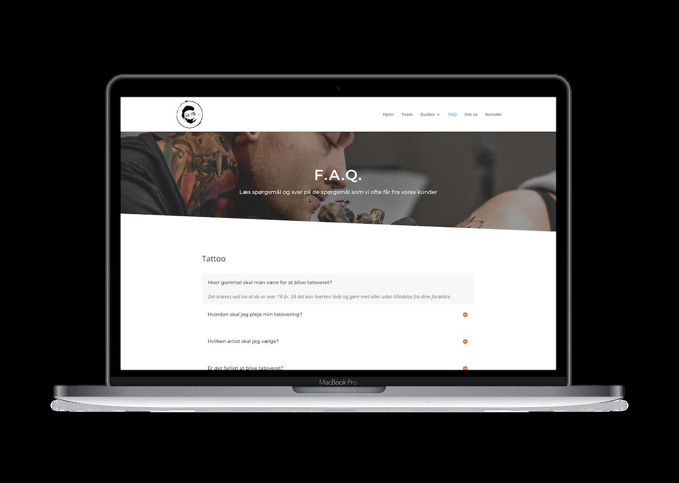 Hjemmeside - C' la vie